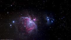 Orionnebel M43 (H.Roebke) Tags: canon100400mmf4556lisiiusm color staradventurer germany 2015 lowersaxony m42 astro unguided niedersachsen farbe nebula longtimeexposure deutschland orionnebel canon7dmkii lightroom langzeitbelichtung deepsky deep space