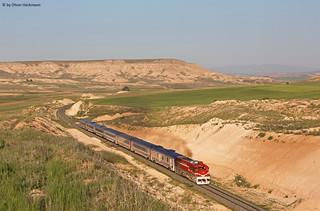 TCDD DE 22014 Eylül Mavi Tren Yenikangal