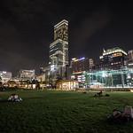 Tanno-ji Park, at night. thumbnail