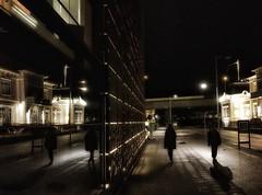Borås by night.