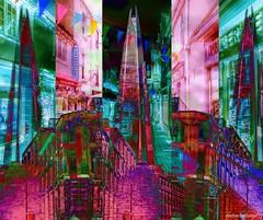 Diverse City (abstractartangel77) Tags: at wordplay brighton london buildings cities