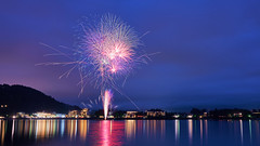 opening star mine (peaceful-jp-scenery (busy)) Tags: fireworks display summer festival mtfuji lakekawaguchi fuji5lakes fujigoko 河口湖湖上祭 河口湖 富士五湖 富士河口湖町 山梨 日本 sony α99ⅱ a99m2 ilca99m2 amount sal2470z variosonnart2470mmf28za carlzeiss