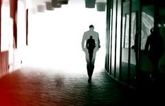 Déjà-vu (ThorstenKoch) Tags: streetphotography street strasse stadt schatten silhouette licht lights lines linien light deram déjàvu fujifilm fuji xt10 dark thorstenkoch pov photography people picture photographer pattern art