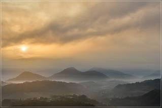 Nantou mountains