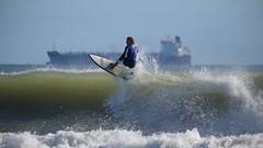 jumping ship (Paul J's) Tags: sport surfing taranaki newplymouth fitzroybeach 2017super8series newplymouthsurfridersclub man