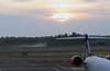 Helsinki Sunrise (Ken Meegan) Tags: helsinkisunrise helsinkivantaaairport helsinki vantaa airport sunrise mist 2182017