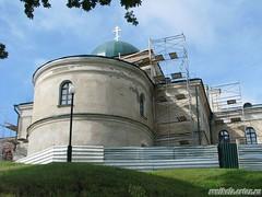 Реставрационные работы Покровская церквовь