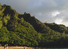 Cliffs (Garden State Hiker) Tags: kauai beach landscape sunset pacificocean keebeach sky goldenhour hawaii haenastatepark clouds
