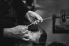 The Spinner (DefinitelyDreaming) Tags: lensbaby velvet85 hands spinning crafts traditional
