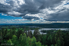 Oslo's outskirts... (GearUp Photography) Tags: norway summer oslo landscape xf1024 travelphotography woods fuji sky xt2 lake amazing fujifilm clouds