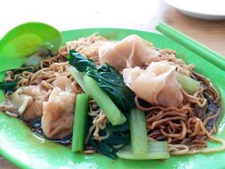 Vegetarian Noodles 素食云吞面