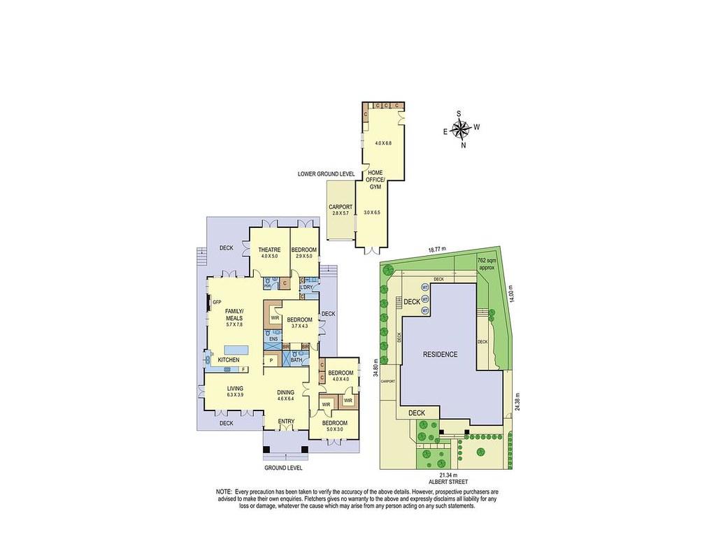 72 Albert Street floorplan