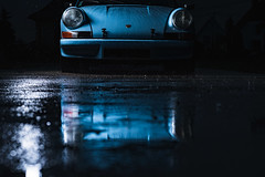 Porsche 911 3.2 82 (m4tik - 128db) Tags: 128dbfr salmanskibartosch m4tikfr porsche 1982 32 classiccar carphotography rain blue sony profoto b1 a9 alpha9 sonyalpha