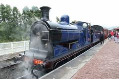 828 Strathspey Railway, Scotland (Paul Emma) Tags: uk scotland aveimore strathspeyrailway railway preservedrailway railroad 828 steamtrain train