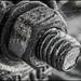 2017-262 Heavy-Duty (Darren Wilkin) Tags: mono bolt nut scaffolding industrial oneaday 365