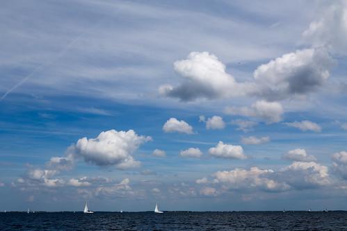 Zeilen op het Grevelingenmeer - 5 mei 2017