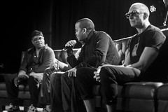 IMG_9944 (Brother Christopher) Tags: blackandwhite monochrome monochromatic explore explored live show liveshow podcast audio audiodocumentary npr gimeltmedia loudspeakersnetwork combatjack reggieosse chrislighty brotherchris hiphop hiphopculture mogul cultre event events talk discussion panel interview
