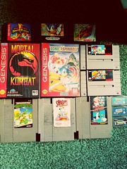 Photo of Fantastic gift from one of my customers after he visited family in America. #videogameroom #videogamecollection #daniel #collection #retro #retrogaming #sega #mastersystem #megadrive #snes #nes #nintendo #spyro #genesis #tmnt #mario #gaming #gameshed #col