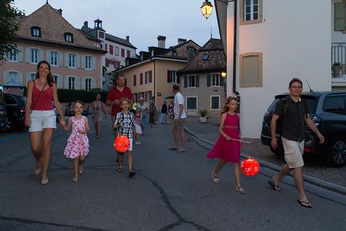 Fête National en Suisse - 1er Août