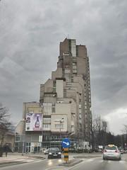 Lamela, apartment tower in Zenica, Bosnia and Herzegovina (Paul McClure DC) Tags: zenica balkans feb2017 bosniaandherzegovina architecture historic
