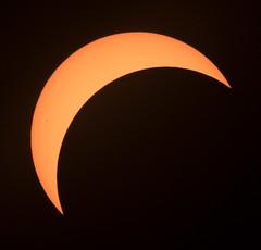 SolarEclipsePartialFive (hillels) Tags: eclipse eclipse2017 washington dc sun moon monument solar glasses event partial solareclipse 2017 solareclipse2017 corona