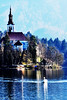 Bled Swan Lake.
