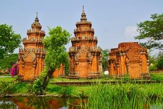 Muang Boran (Ancient Siam) open air museum in Samut Phrakan province near Bangkok, Thailand