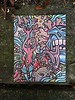 """8/19/17 8 1/2"""" x 11 Sharpie, colored pencil, heavy cardstock (Chris Francz) Tags: sharpieart coloredpencilart chrisfranczart chrisfrancz abstractart surrealart weirdart wierdart art stroudsburgpa colorart"""
