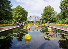 _8202711 (elsuperbob) Tags: stlouis missouri missouribotanicalgarden carlmilles sculpture architecture reflections climatron geodesicdome gardens modernism