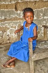 Sierra Leoneon school girl.