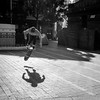 Getting some air (Michael Rawle) Tags: shadow action skateboarder streetphotography sport sunlight footpath activities streetpeoplephotography surryhills newsouthwales australia au