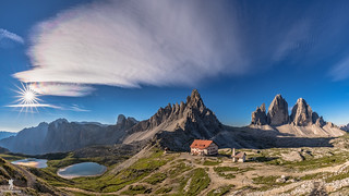 Beauty of the dolomite alps