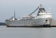 Muskegon, McKee Sons (Mr. History) Tags: muskegon lakemichigan michigan freightor boat ship water port barge