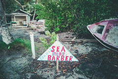 Sea Side Barber, St. Lucia