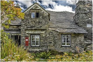 I was in Tintagel ... the  Old Post Office  ...