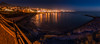 Tenerife Sunset (Muhammad Al-Qatam) Tags: adeje canarias spain es muhammadalqatam malqatam costa sunset blue hour panorama seascape waterscape beach travel tenerife