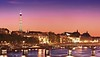 Left Bank of the Seine at Night (Barry O Carroll Photography) Tags: seine river water pontdesarts quays leftbank rivegauche eiffeltower toureiffel museedorsay dusk night city cityoflight cityscape urbanlandscape architecture travel