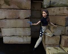 Vittoria Belmonte as Andrea Rossi (MaxxieJames) Tags: total conquest vittoria belmonte claude action movie man barbie doll mattel collector made move teresa brunette film dravin