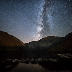 It's hard to resist (Nocturnal Bob) Tags: monocounty california ca convict lake milkyway galaxy longexposure clouds mountains hills nightphotography sony a7r sigma 14mm 18 dg hsm art