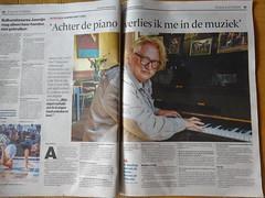 Jasper van 't Hof in de Stentor (willemalink) Tags: jasper van t hof de stentor