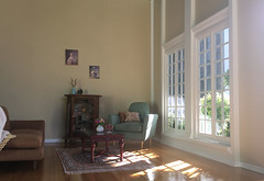 Sunlit Sittingroom (butterfly_house) Tags: onesixthscale 16scale miniatures dollhouse diorama roombox