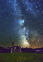 Via Lactea sobre la Hermita... (elpitiuso) Tags: milkyway vialactea universe universo stars galaxy cosmos space lights night nightscape nightlandscape landscape