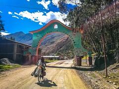 Heading into Cajatambo.