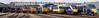 Legends of the Great Western (McTumshie) Tags: 180102 20170902 253001 50035 6023 7903 800803 93 br britishrail class180 d1015 d821 foremarkehall gwr greatwesternrailway greyhound hst highspeedtrain hitach intercity125 intercity125highspeedtrain intercityexpresstrain kingedwardii london ooc111 oldoakcommon queenelizabeth queenelizabethiiqueenvictoria steamrailmotorno93 westernchampion class253 class42 class50 class52 class800 depot diesel locomotive locomotives openday railway steam warship western england unitedkingdom