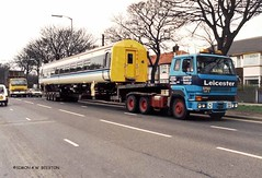 HULL 000000 A614GNR (SIMON A W BEESTON) Tags: hull leicesterheavyhaulage scammell s26 a614gnr