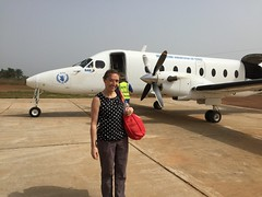 Alaine Knipes in Guinea