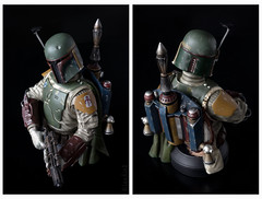 Boba Fett | Mini Bust | Gentle Giant (leadin2) Tags: 2017 canon eos m6 canonefs35mmf28macroisstm efs 35mm f28 macro is stm gentlegiant gentle giant boba fett star wars return jedi sdcc 2013 exclusive deluxe minibust mini bust