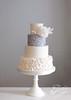 silver sequins peony chiswick (Jen's Cakery) Tags: jens cakery jenscakery london cake wedding weddingcakes