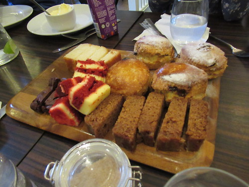 Sunday, 10th, Scones and cakes IMG_6568