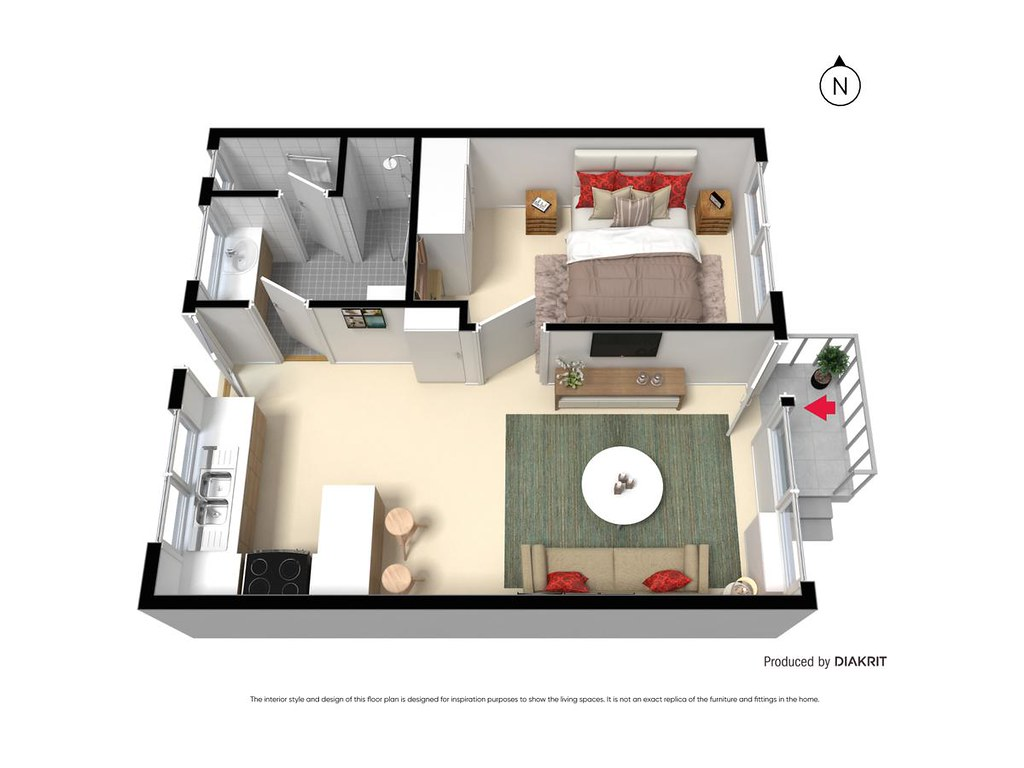 7/54 Moonya Road floorplan